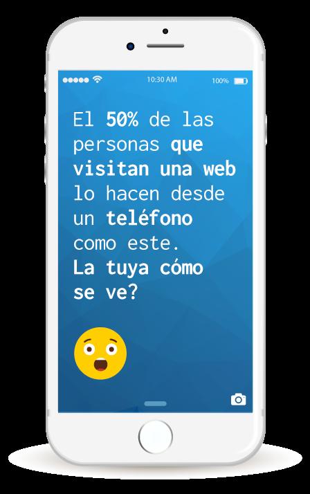 promocion de sitio web en mobiles