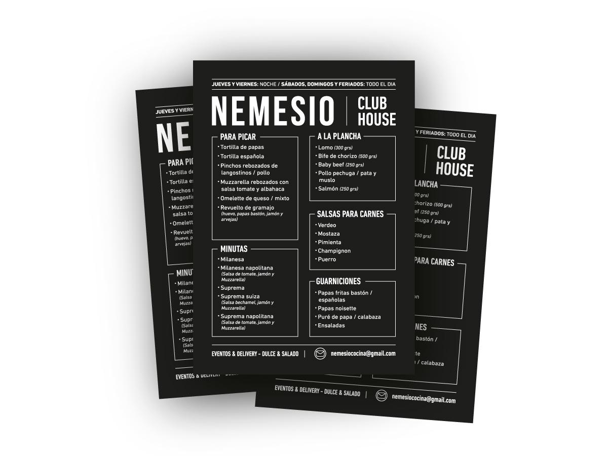 menu nemesio restaurant